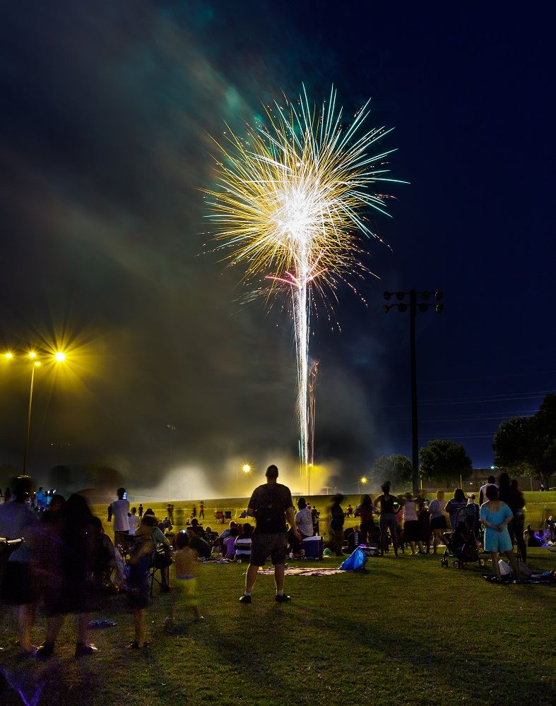 Family Night Out 2018, fireworks