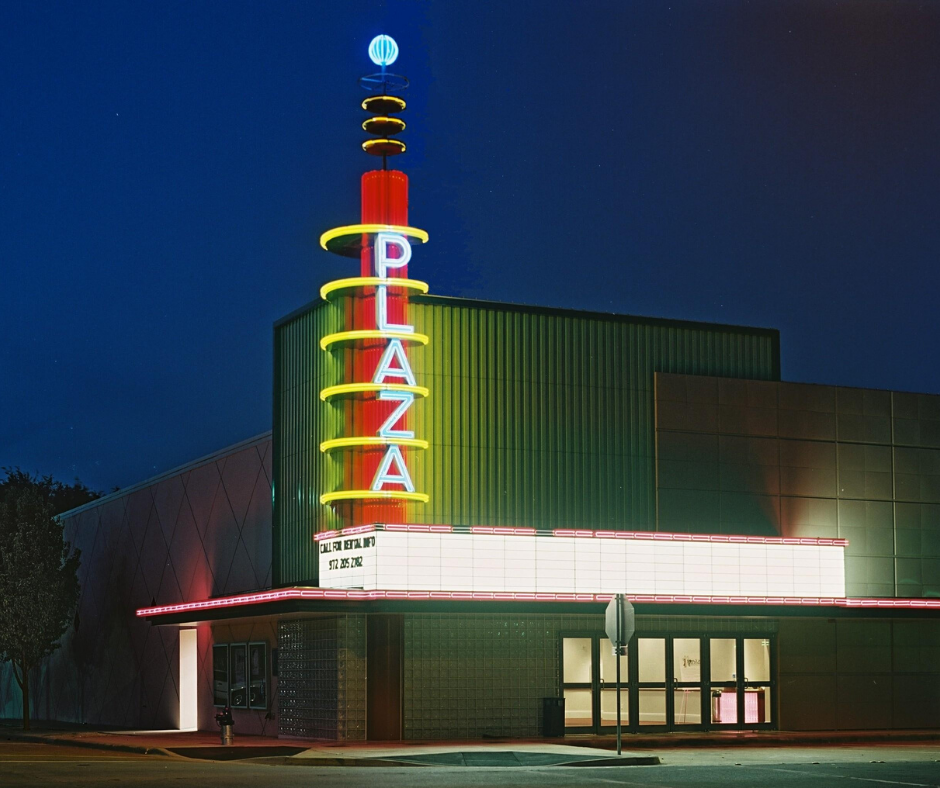 The Plaza Theatre, Downtown Garland